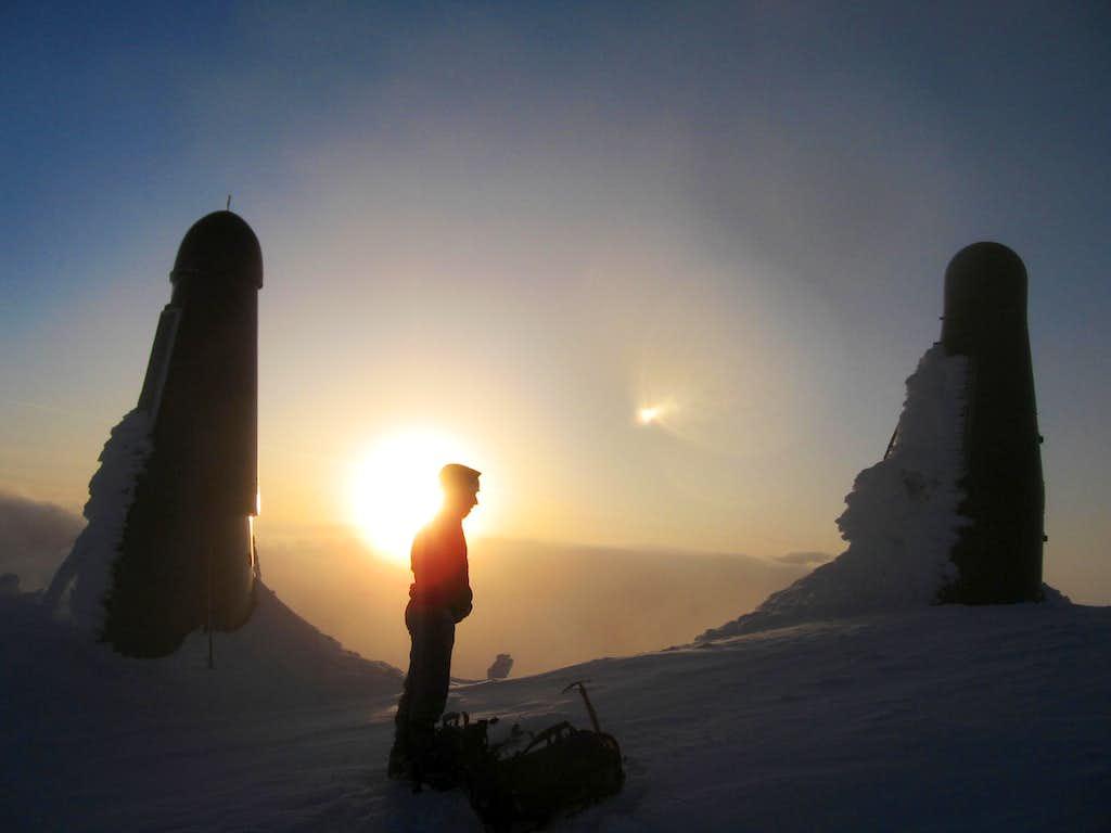 Summit of Mt. Arrowmsith