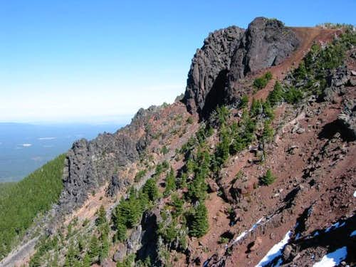Black Crater summit (rocky...
