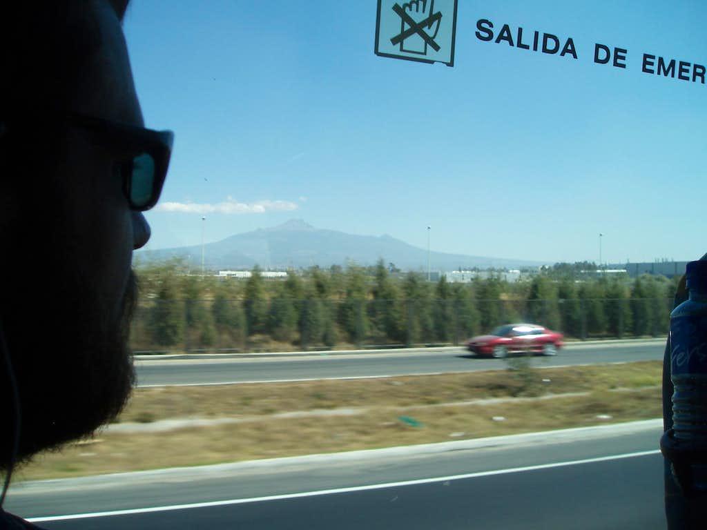 The ride t o Amecameca