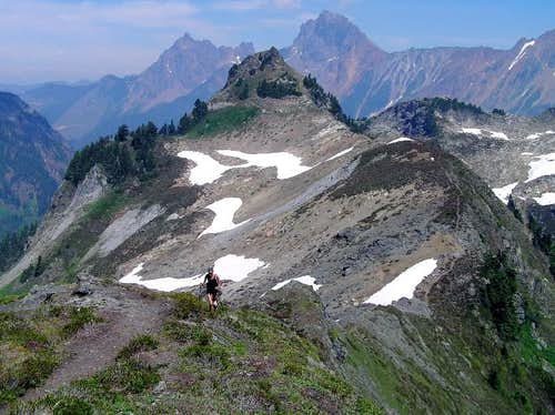 Yellow Aster Butte & Border Peaks