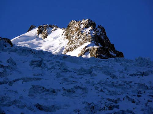 Mont Maudit (4465 m) N side