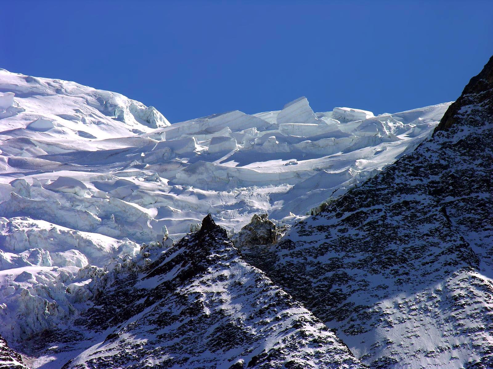 <font color=blue>▲</font>Glaciers of the Monte Bianco