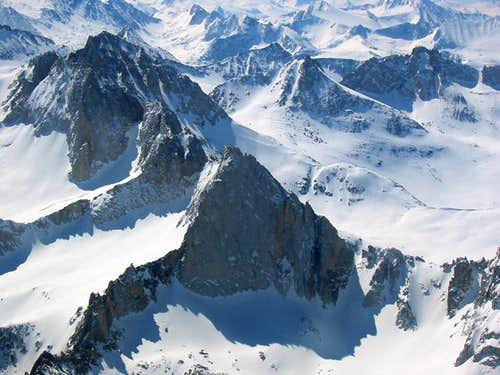 The Northwest face of...