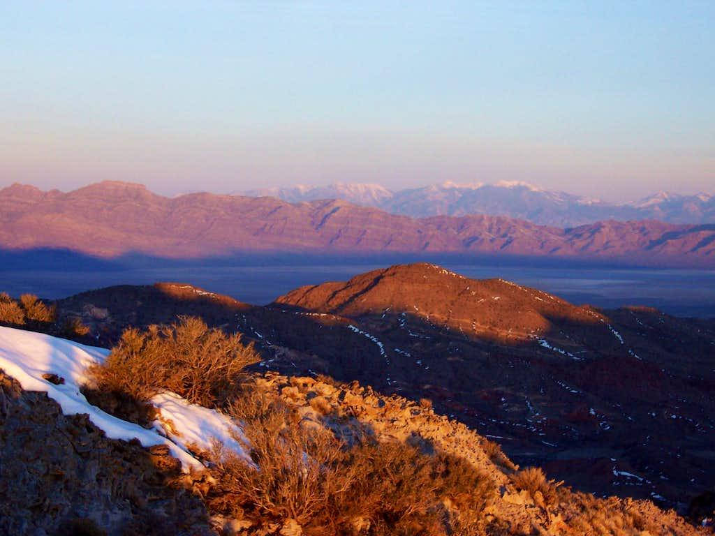 George H Hansen and the Deep Creek Range
