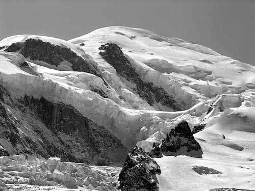 Le Mont Blanc (4810 m)