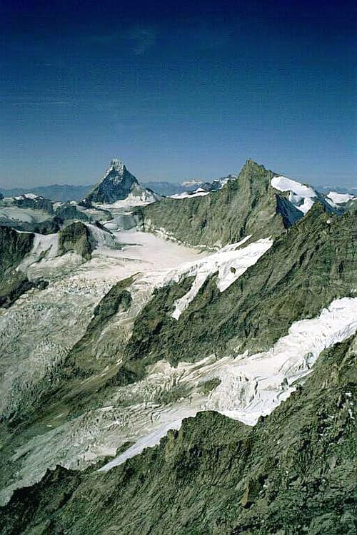 Matterhorn and Zinalrothorn