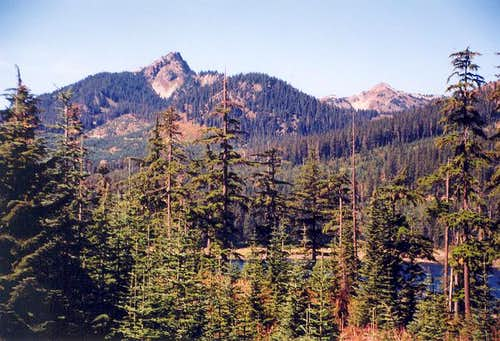 Tinkham Peak and Silver Peak...