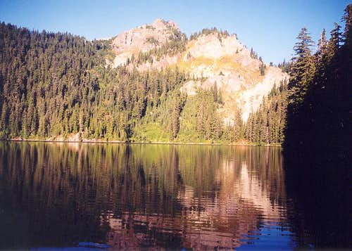 Tinkham Peak\'s east side and...