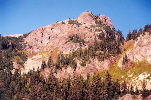 The East Face of Tinkham...