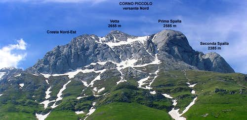 Corno Piccolo North Side
