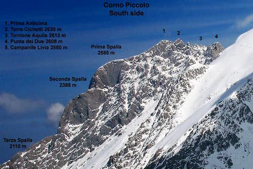 Corno Piccolo South Side