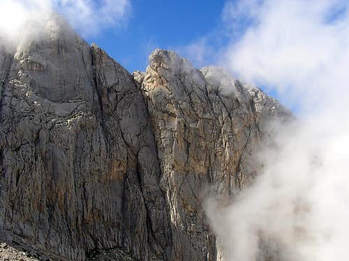 Corno Piccolo, East Face