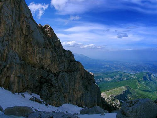 Corno Piccolo, East Face 2