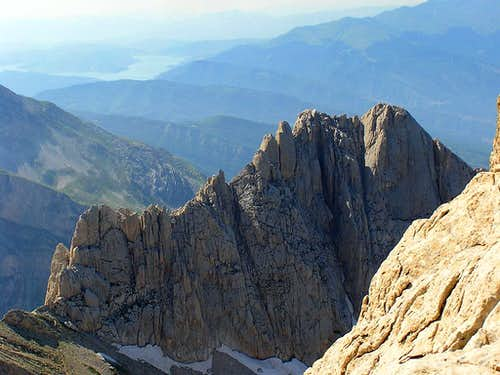Corno Piccolo, South Ridge