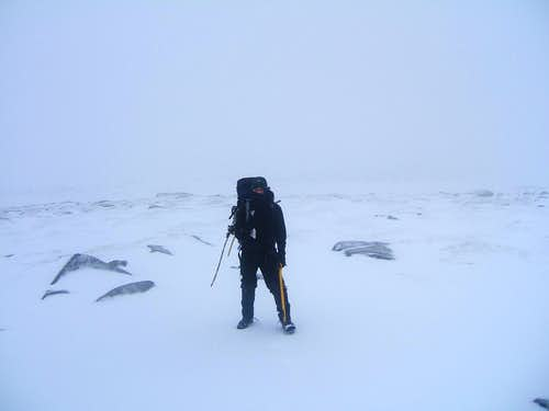 One Cold Day on Ben Macdui