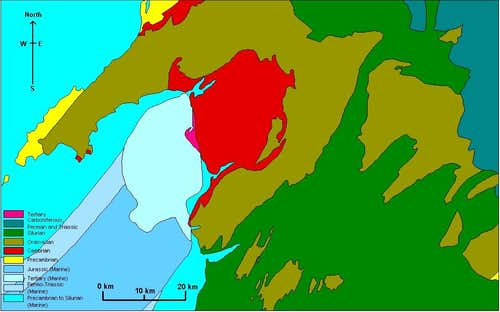 Geology of North Wales