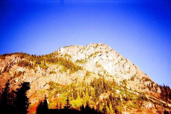 West side of Guye Peak.