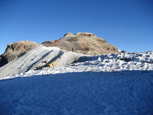 The final Stretch to the Summit Crater