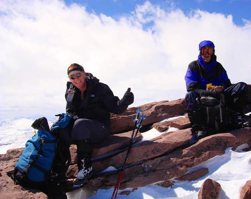 KPT07: Dave and Jan on the summit