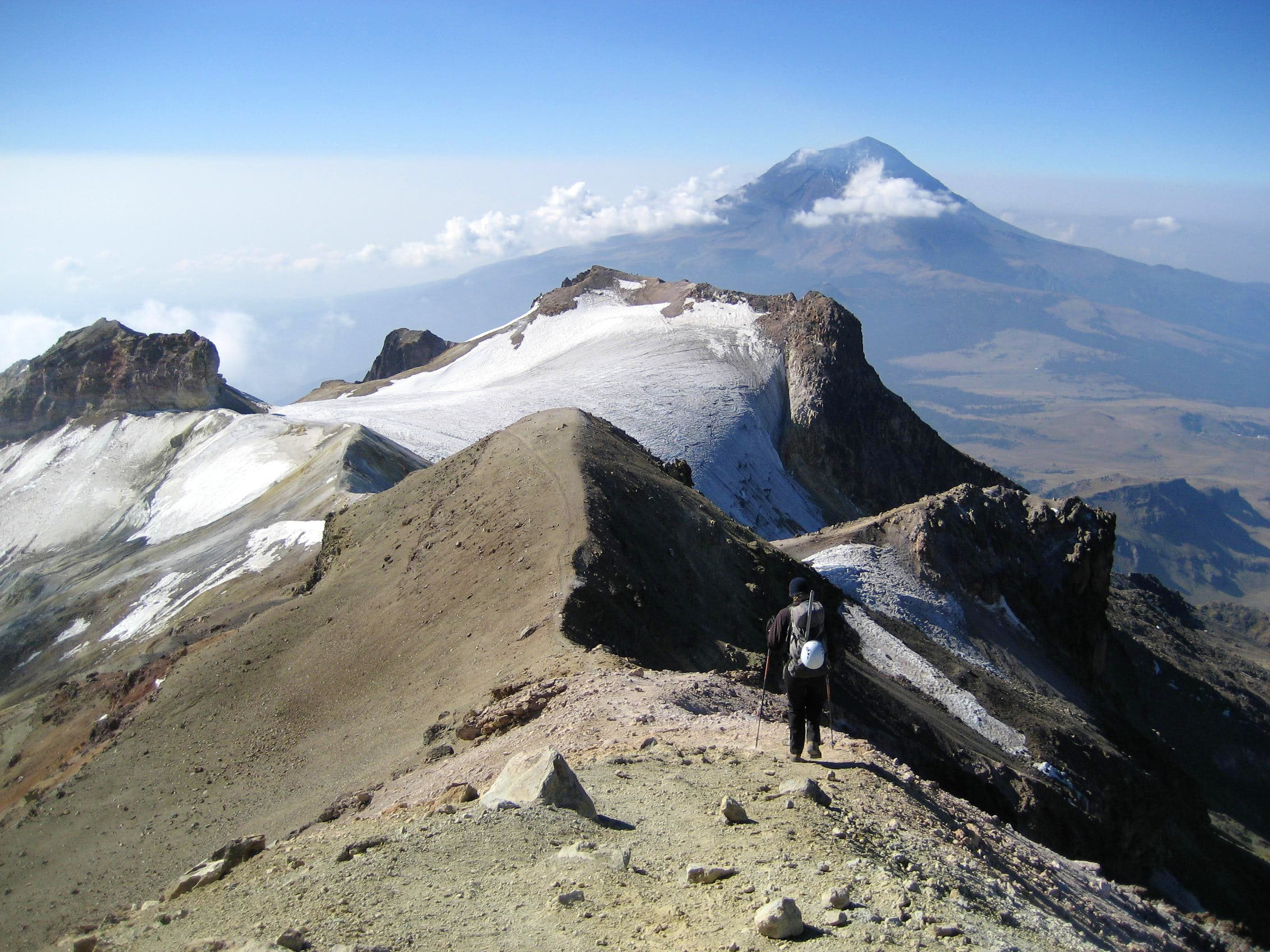 Chasing the Glaciers in Mexico: March 2007