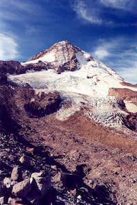Cooper Spur, Eliot Glacier, East Side Mt.  Hood