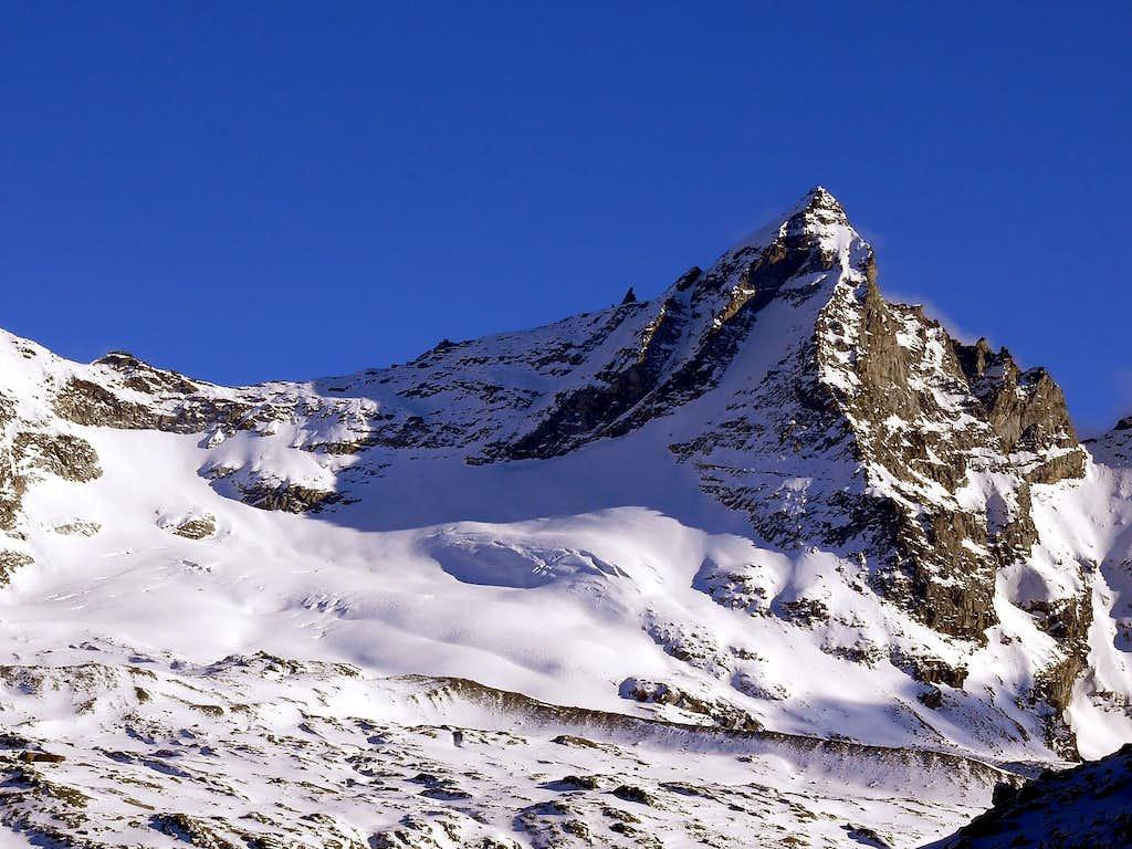 La becca di Monciair (3544 m)