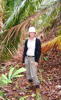 Inge in jungle