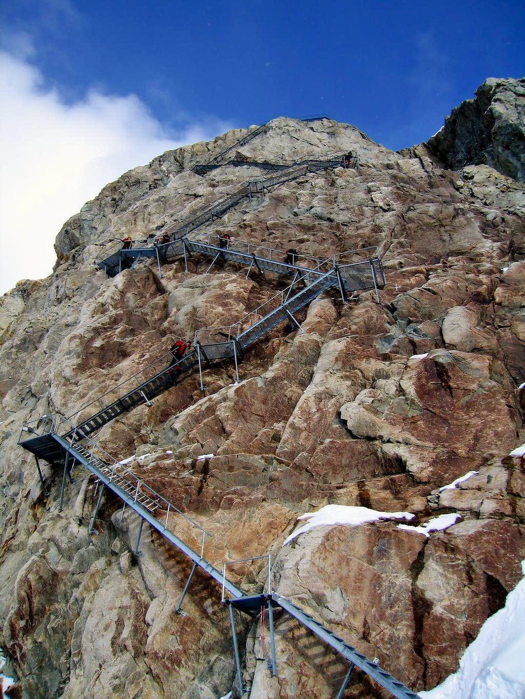 Konkordia hut Climb