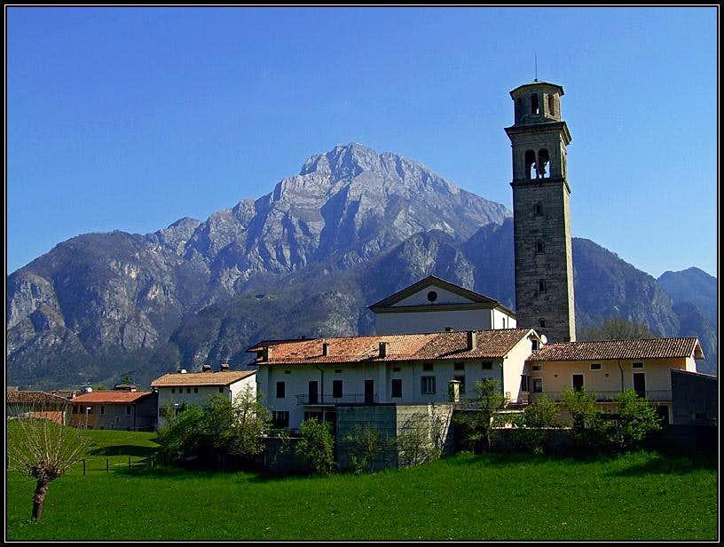 Monte Amariana from Cavazzo Carnico
