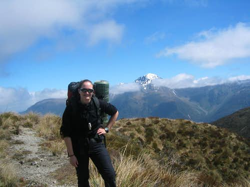 Backpacking in the Arthur's Pass area