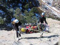 Vertical Rescue Practice