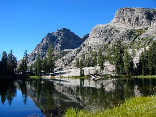 Lake 8740+, northeast of the...
