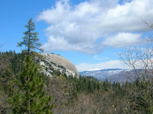 Dome Rock and Olancha Peak