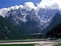 Monte Cristallo from the North