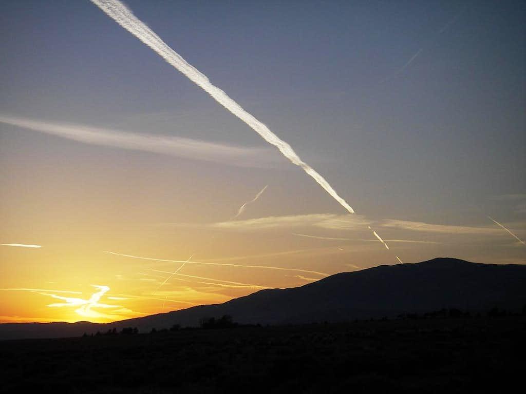 Sunset, Mojave Desert