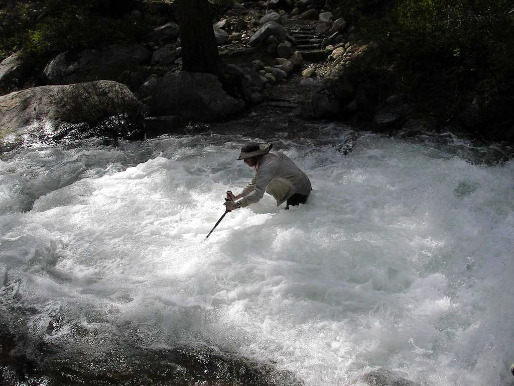 Go-Big in Fast Water, Mono Creek