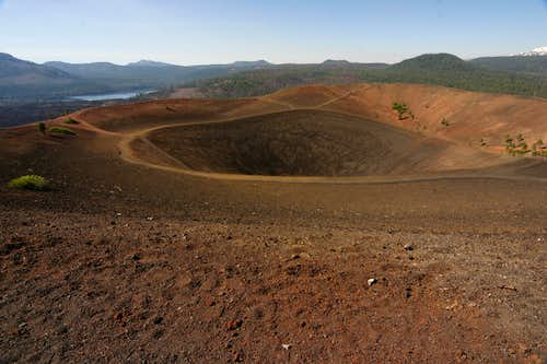 From the top of Cinder Cone, July 17, 2006.