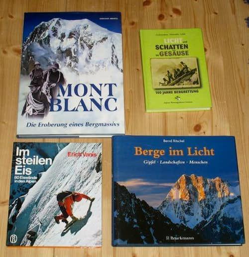 Mont Blanc, Gesäuse, Ice Climbing, etc