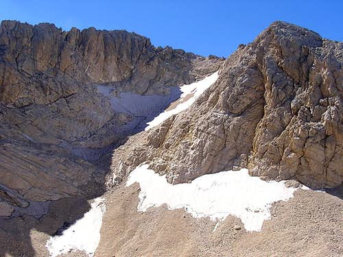 Corno Grande, Calderone Glacier 2