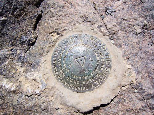 Ord Mtn. Survey Marker