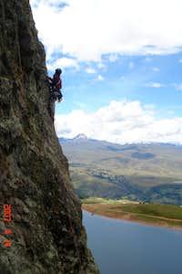 Climbing in Peru