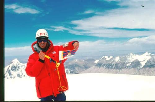 April 08, 2003. Pumori Summit...
