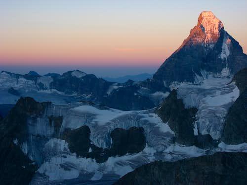 Matterhorn from Zinalrothorn