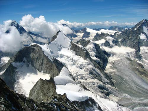 View from Zinalrothorn