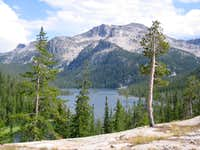Sheepeater Peak from Ship Island Lake