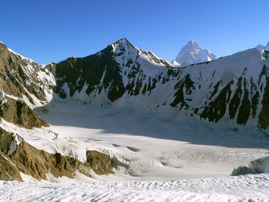 K2 from Gondogoro Pass