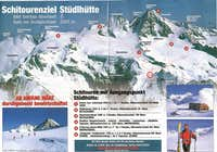 Skitours from Stuedlhutte