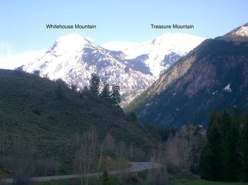 Whitehouse Mountain & Treasure Mountain A