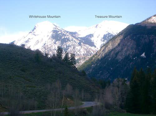 Whitehouse Mountain & Treasure Mountain A