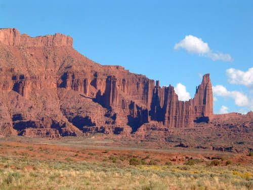 Fisher Towers and Titan in Profile